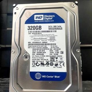 [Mã ELMS05 giảm 5% đơn 300K] Combo 10c ổ cứng hdd 320g western hàng tháo máy đồng bộ chuẩn sata