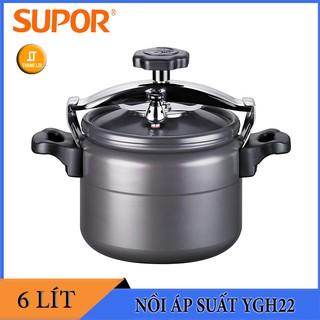 Nồi áp suất cơ Supor YGH22 6.0 lít – Nồi hầm nhôm Supor 6L