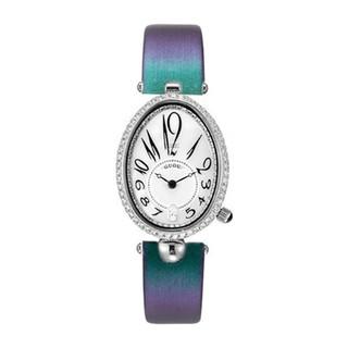 Đồng hồ nữ Guou 6040 chính hãng chống nước hình giọt nước viền đá dây da không kim g