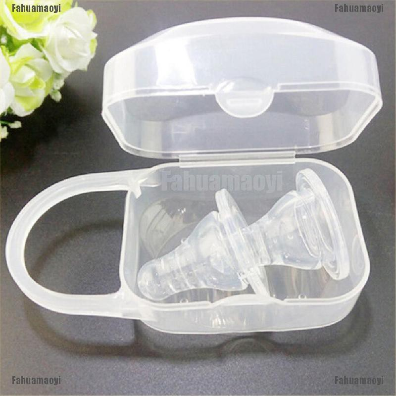 fahuamaoyi.th Portable Boy Infant Pacifier Nipple Case Cradle Holder Storage Box Baby Supplies