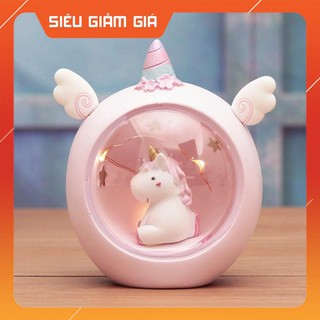 Quà tặng sinh nhật cho trẻ em – Đèn kỳ lân Unicorn lung linh sáng MỚI