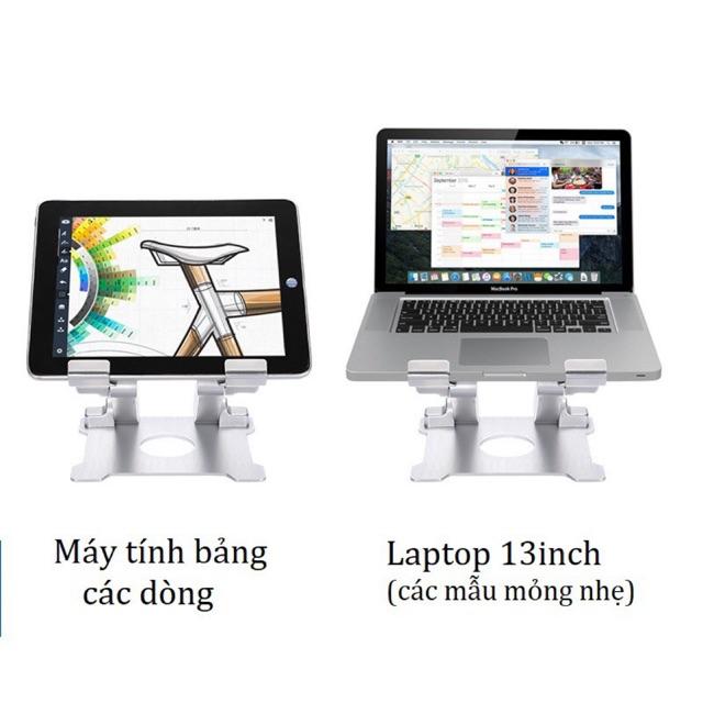 [Mã SKAMPUSHA7 giảm 8% đơn 250k](Cỡ lớn) Giá đỡ nâng máy tính bảng tablet Ipad Surface có thể chỉnh độ cao IDock T27