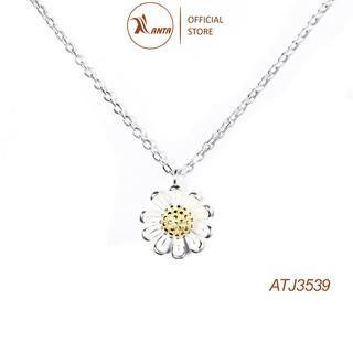 Dây chuyền bạc 925 Hình Hoa Cúc Xinh Xắn ANTA Jewelry ATJ3047