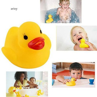 ♞20 Pcs Cute Squeaky Ducks Baby Kids Children Water Bathing Beach Fun Toys