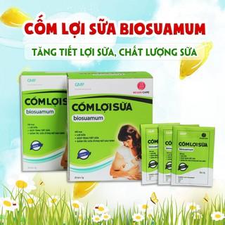 Cốm lợi sữa Biosuamum – Tăng tiết lợi sữa thảo dược