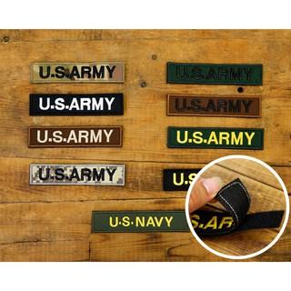 Logo patch vải Velcro U.s.army khoá dán dùng trang trí quần áo quân đội, mũ(nón), balo