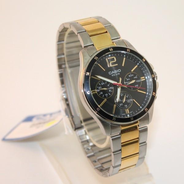 Đồng hồ nam casio chính hãng MTP-1374SG-1AVDF, dây kim loại ...