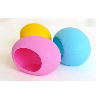 nhà ngủ nhựa hình trứng cho hamster 2