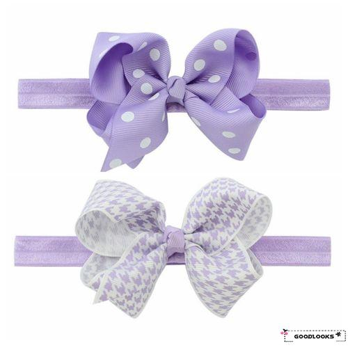 HGL♪Beautiful And Durable Headband Hair Band Headwear Accessories With Lace Bow