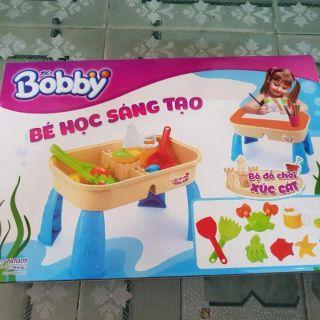 🐙🐳🐚🐢Bộ đồ chơi xúc cát KM của Bobby
