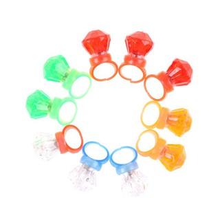 (M02) 10 vòng đeo ngón tay có đèn LED phát sáng trong đêm