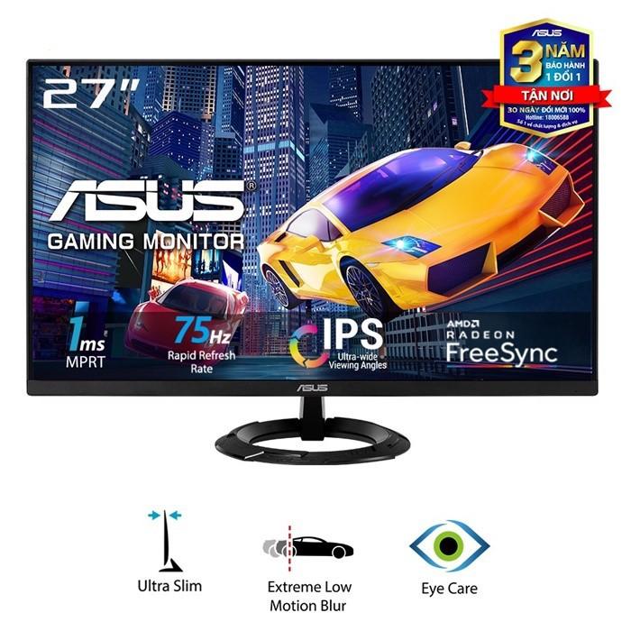 Màn hình Asus VZ279HEG1R (27inch/FHD/IPS/75Hz/1ms/250nits/HDMI+DSub/FreeSync) - Hàng Chính Hãng