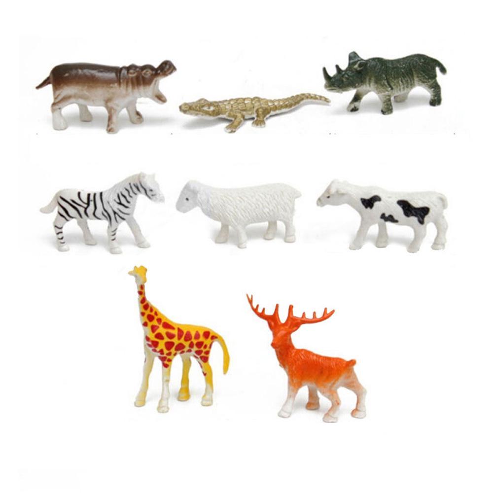 Bộ 8 món đồ chơi hình các con vật