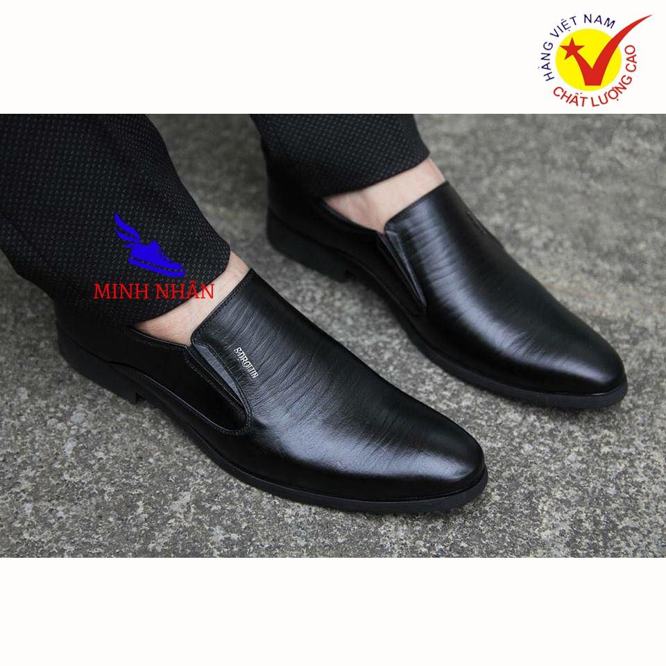 Giày lười nam DA BÒ Giày công sở nam đẹp Giày tây nam Giày Kinh doanh Doanh nhân Giày da bò cao cấp hàng hiệu L-28