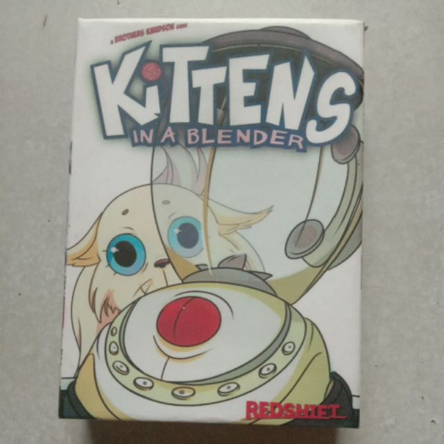 Kittens in the blender ( mèo xay )