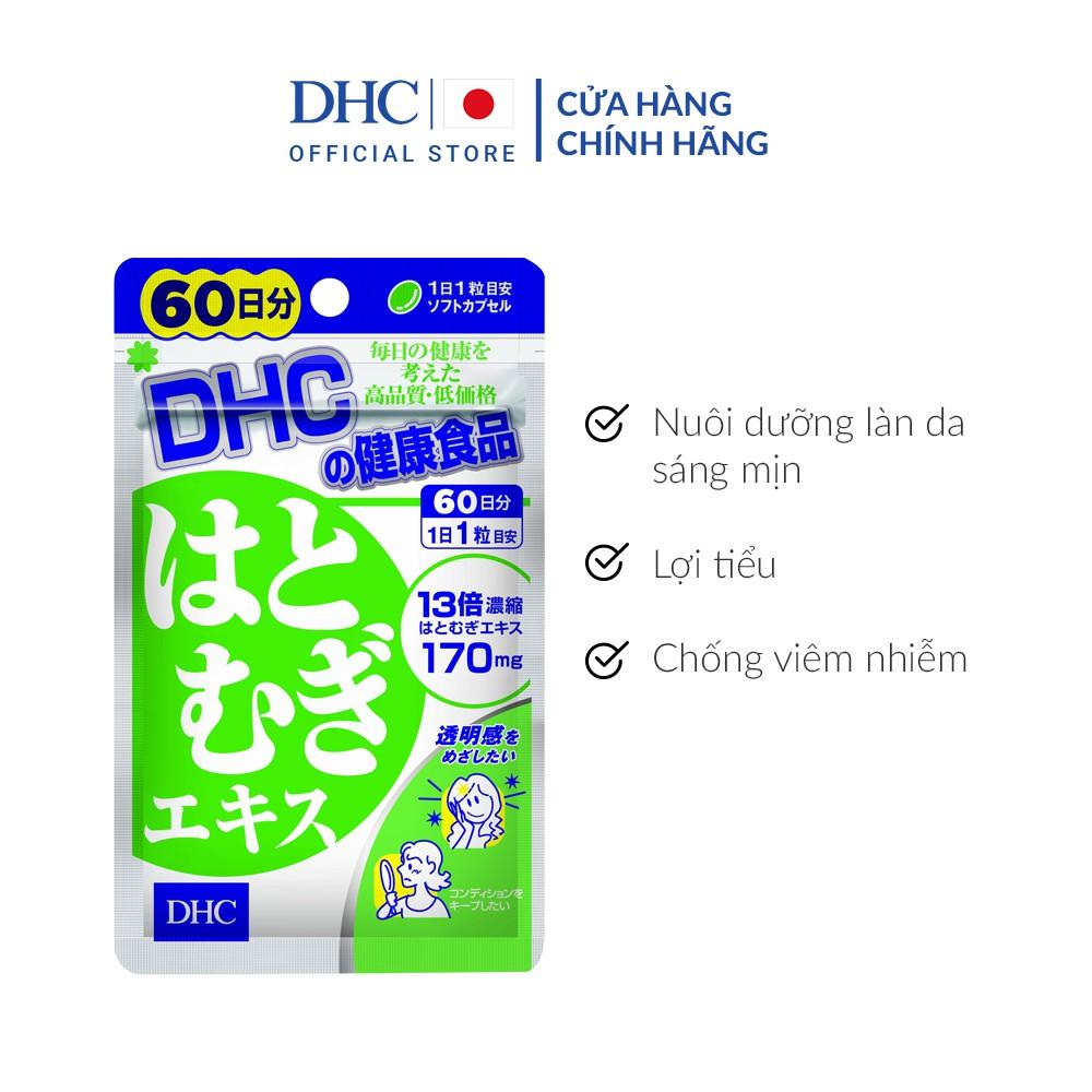 Viên uống Trắng da DHC Nhật Bản Adlay Extract 60 Ngày (60 viên)
