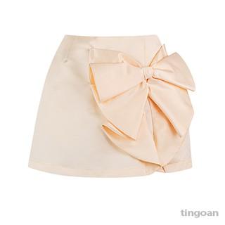 Chân váy nơ vàng tingoan DIXIE SKIRT YL (có quần trong) thumbnail