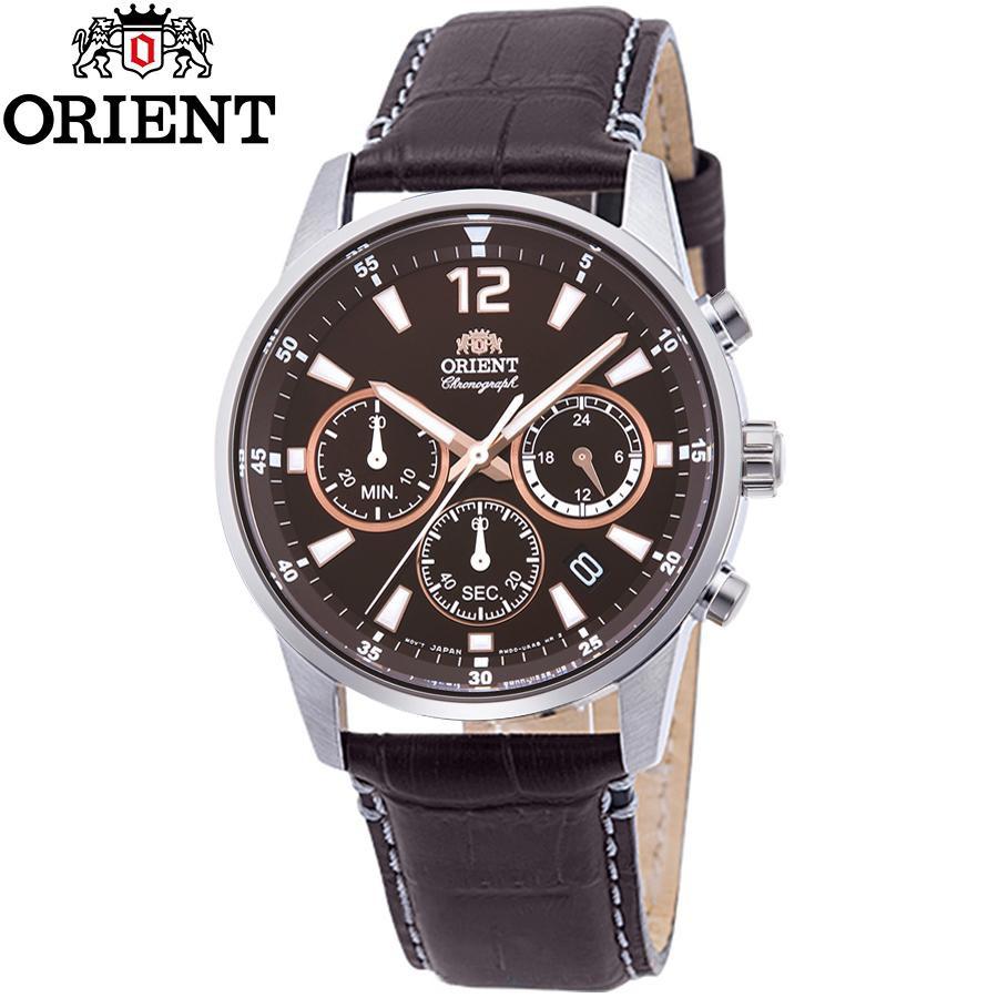 Đồng hồ nam dây da Orient RA-KV0006Y10B