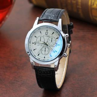 Đồng hồ nam dây da Hàn Quốc Siêu đẹp CFHD DH101
