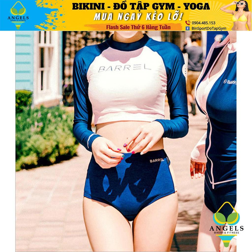 Bikini,Bộ Đồ Bơi 2 Mảnh Dài Tay Barel, Hàng Nhập,BHN003 [ Giá Sỉ ]