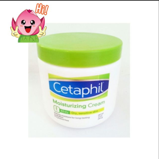 KEM DƯỠNG ẨM TOÀN THÂN CETAPHIL - Moisturizing Cream 453g