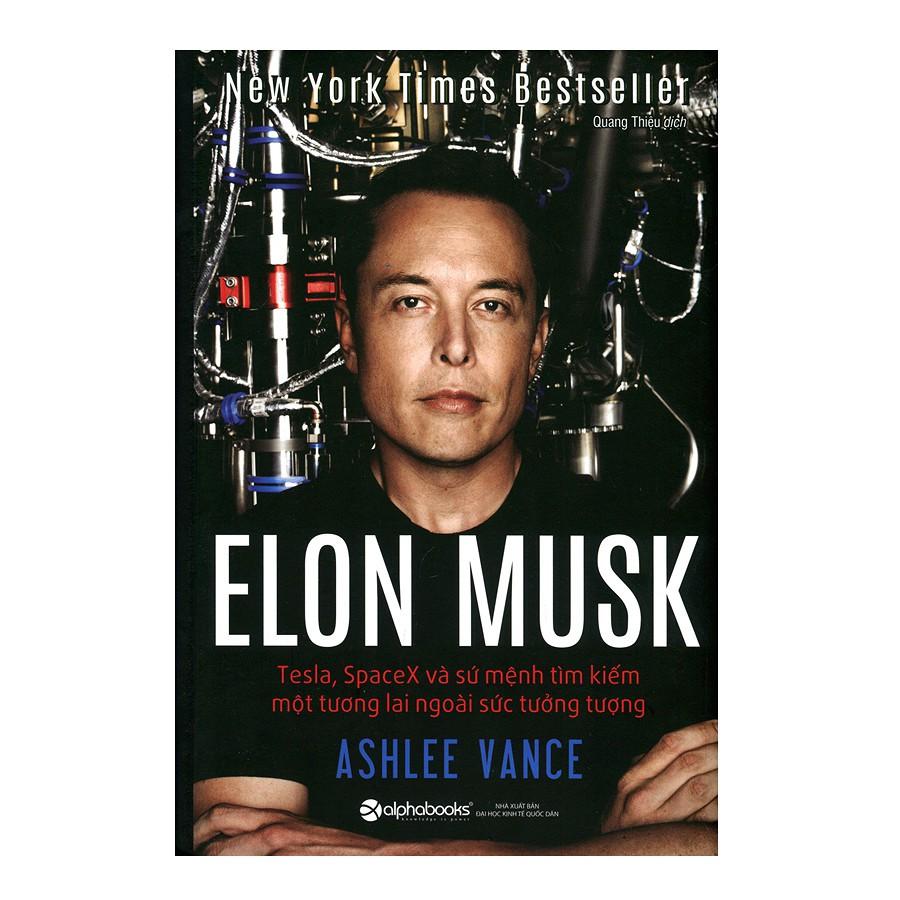 [Sách] Elon Musk: Tesla,SpaceX Và Sứ Mệnh Tìm Kiếm Một Tương Lai Ngoài Sức Tưởng Tượng (Tái Bản 2018 - 2976571 , 1011411643 , 322_1011411643 , 209000 , Sach-Elon-Musk-TeslaSpaceX-Va-Su-Menh-Tim-Kiem-Mot-Tuong-Lai-Ngoai-Suc-Tuong-Tuong-Tai-Ban-2018-322_1011411643 , shopee.vn , [Sách] Elon Musk: Tesla,SpaceX Và Sứ Mệnh Tìm Kiếm Một Tương Lai Ngoài Sức T