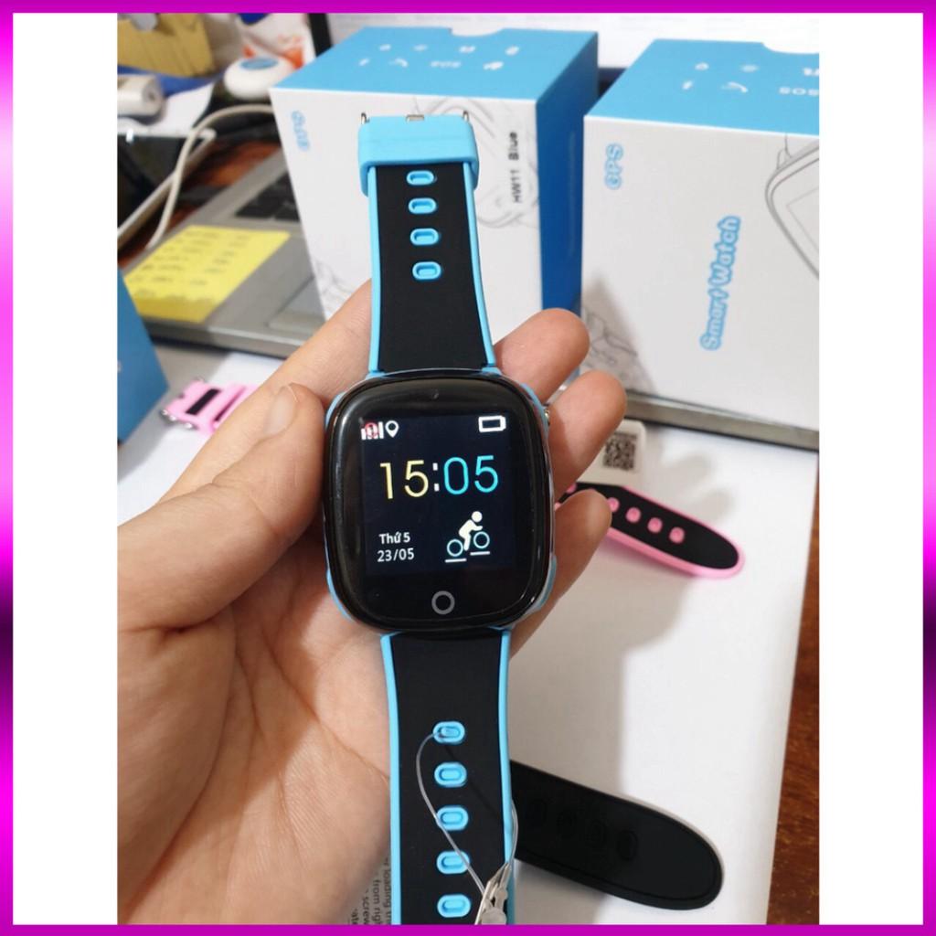 Đồng hồ thông minh trẻ em HW11 - Định vị GPS - Chống nước IP67 - Camera