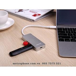SeenDa HUB USB-C 2 cổng có nguồn sạc cổng Type-C