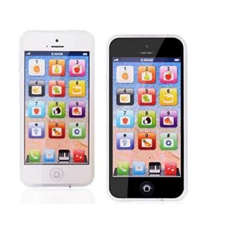 YPhone Kids Learning Toy Play Cell Phone Black Recharable Random Color