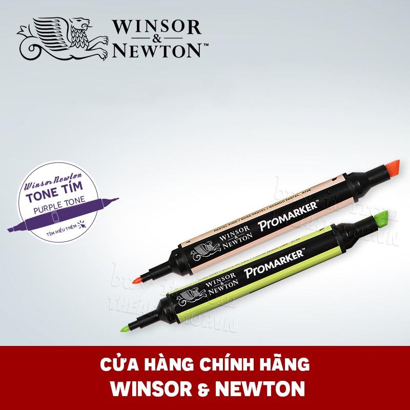 (P4)Bút marker WINSOR & NEWTON Promarker (Bán lẻ) - Tone Tím-Hồng