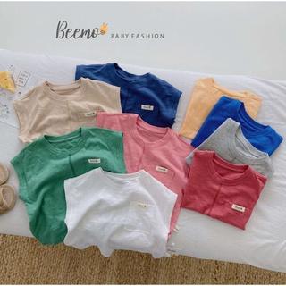 Áo phông cotton ba lỗ bé trai Beemo – 21A020