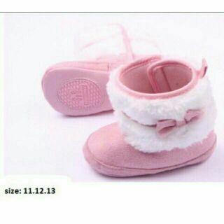 Boot lông nơ hồng thumbnail