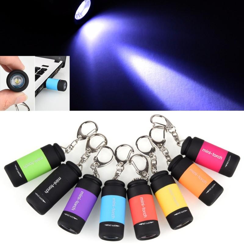 Móc khoá kèm đèn LED Mini dùng đi cắm trại