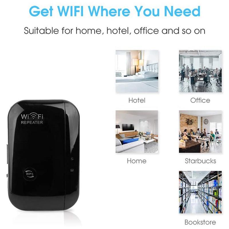 Bộ Khuếch Đại Tín Hiệu Wifi 2.4ghz Uk Plug