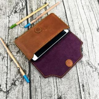 Túi đeo hông đựng điện thoại da bò thật 100% handmade Zachi – ZC9723
