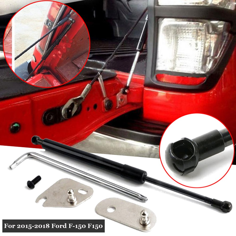 Tailgate Assist Lift Slow Down Shock Struts For 2015-2018 Ford F-150 F150