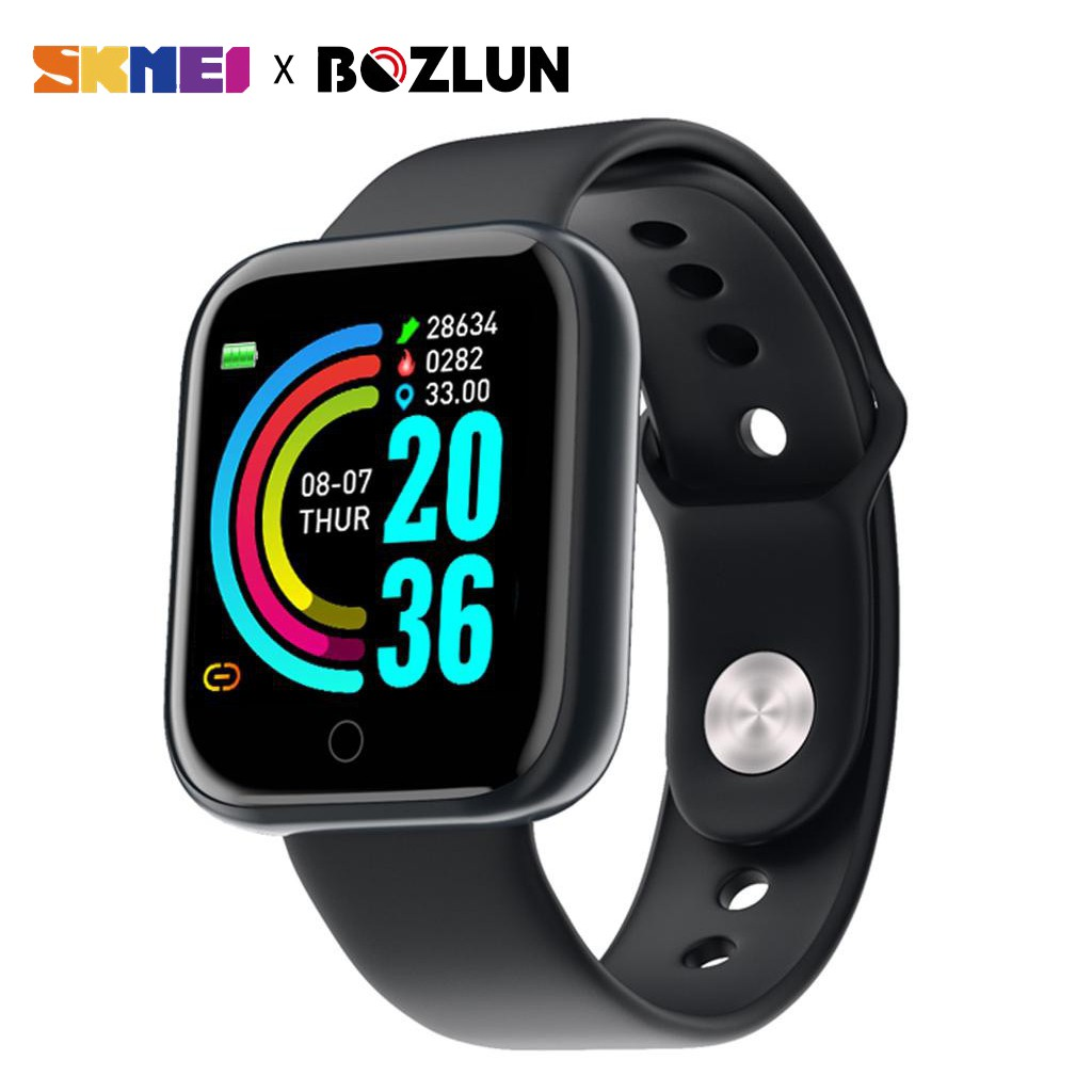 SKMEI Đồng hồ thông minh Y68 chống nước kết nối bluetooth hỗ trợ theo dõi sức khỏe