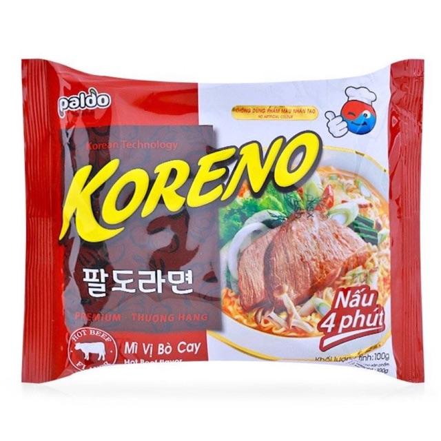 Mì vị bò cay Paldo Kozeno gói 100g