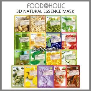 Mặt nạ 3D Foodaholic chính hãng Hàn Quốc (Miếng lẻ Date 2022) thumbnail