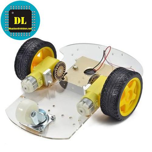 Khung Xe Robot 2WD