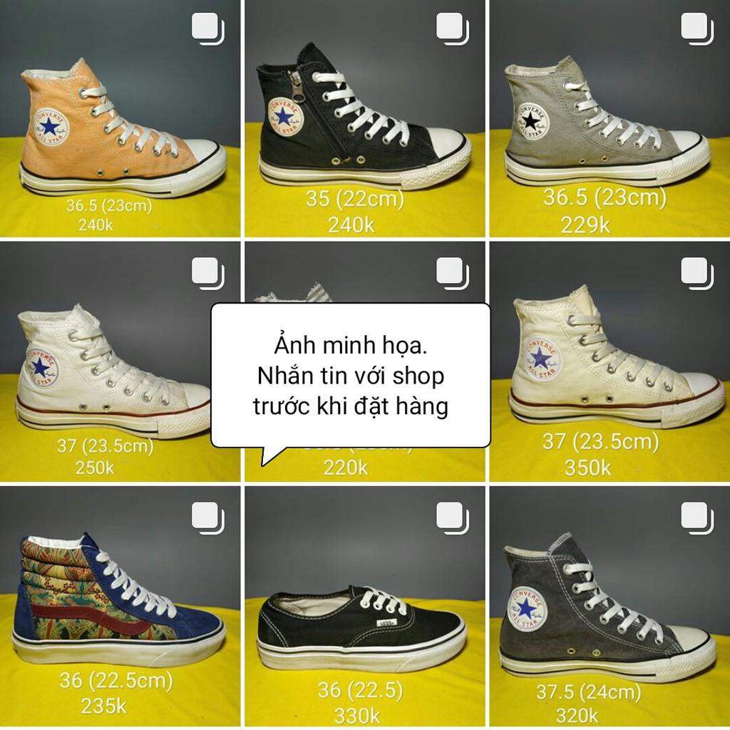 Giày Converse 2hand Chính Hãng (Đã Qua Sử Dụng)