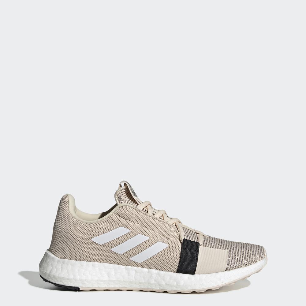 adidas RUNNING Giày Senseboost Go Nữ Màu be G26948