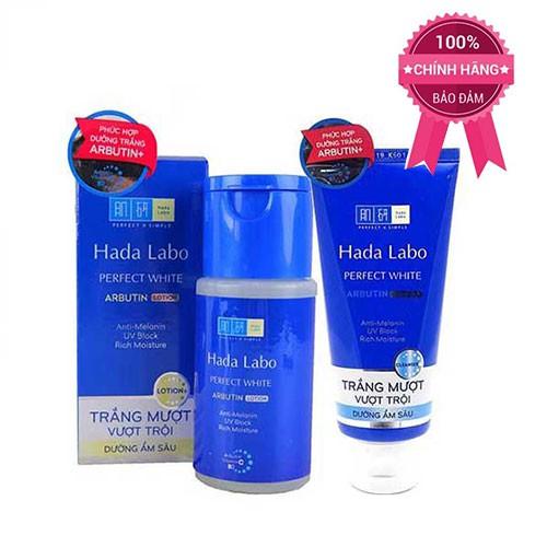 Combo 2 sản phẩm Sữa rửa mặt và Dung dịch dưỡng trắng vượt trội Hada labo Perfect White - 10033848 , 830989652 , 322_830989652 , 204000 , Combo-2-san-pham-Sua-rua-mat-va-Dung-dich-duong-trang-vuot-troi-Hada-labo-Perfect-White-322_830989652 , shopee.vn , Combo 2 sản phẩm Sữa rửa mặt và Dung dịch dưỡng trắng vượt trội Hada labo Perfect Whit