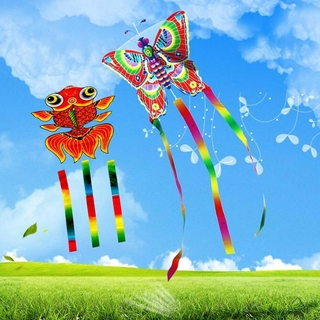 Outdoor Kites Butterfly Flying Kite Kids Fun Sports Line With 30m Toys O7S0