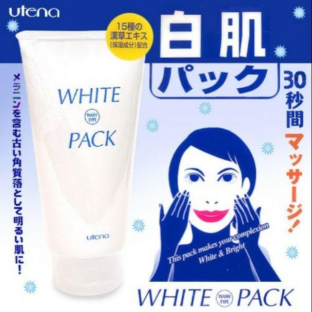 MẶT NẠ Ủ TRẮNG DA UTENA WHITE PACK Nhật Bản | Shopee Việt Nam