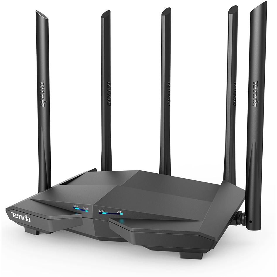 Bộ Phát Wifi Tenda AC23 AC11 AC8 AC7 AC6 5 Ăng Ten 6dbi Phát Wifi Chuẩn AC1200 Model 2018 (Hàng Nhập Khẩu)