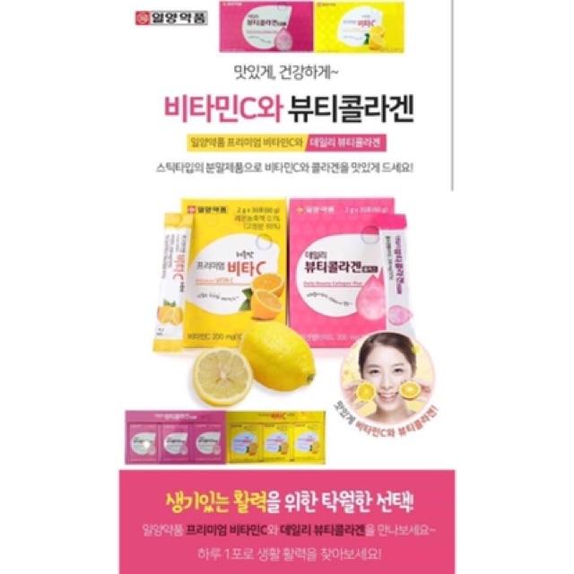 [HANG MOI VỀ] Bột Uống Bổ Sung Collagen Hàn Quốc Hôp 90 gói