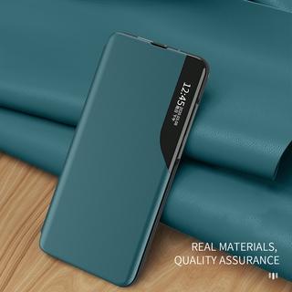 Bao da điện thoại nắp từ cửa sổ thông minh chống sốc cho Samsung Galaxy A50 A50S A30S A70 A70S M31 M30S M21 Matte