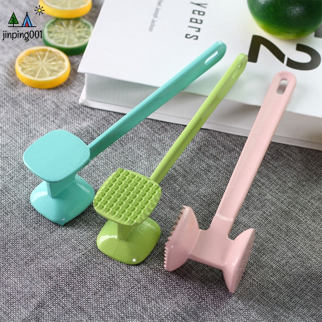Mini Aluminium Alloy Steak Hammer Beef Pounder with Hanging Hole