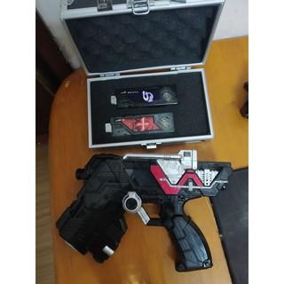 combo đồ chơi DX skull magnum + bộ vali 2 memory – kamen rider W